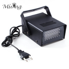 3W 24 LED Stage Lights Operated DJ Strobe Lights Disco Party Club KTV Stroboscope White Stage Lighting Effects EU Plug AC220V