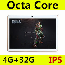 10 inch MTK8752 Octa Core Tablet PC smartphone 1280x800 HD 4GB RAM 32GB ROM Wifi 3G WCDMA Mini android 5.1 GPS FM tablet+Gifts(China)