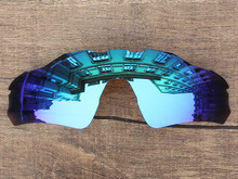 Ice Blue Mirror Polarized Replacement Lenses For Radar EV Path Sunglasses Frame 100% UVA & UVB Protection