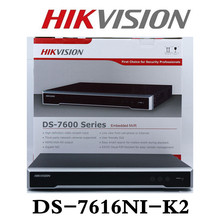 Hikvision DS-7608NI-K2 Embedded Plug & Play 4K NVR Support H.265 8MP 8CH Hikvision Network Video Recorder