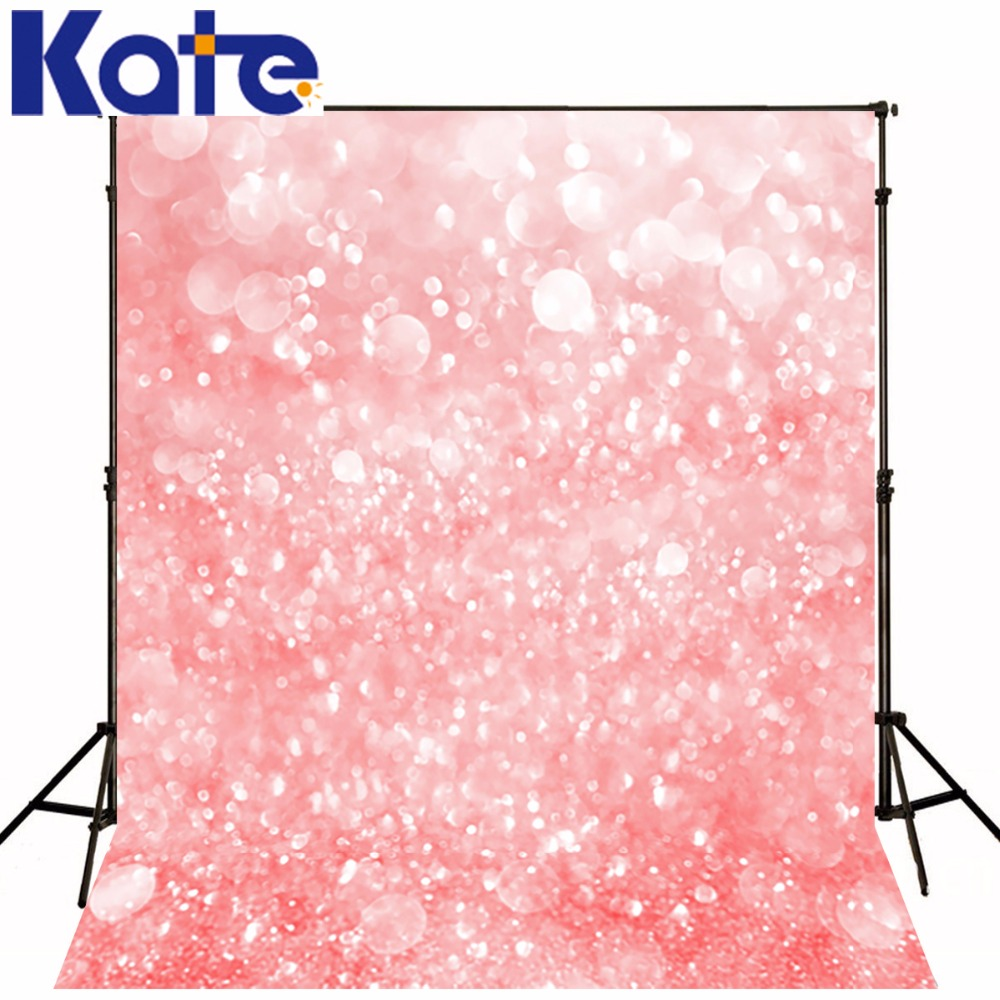 5X6.5ft Kate Newborn Backdrops Photography Pink Bokeh Children Backgrounds for Photo Studio Photocall Wedding<br>