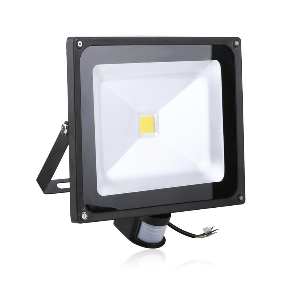 LED Flood Light PIR sensor Waterproof IP65 Outdoor AC85-265V 50W motion sensor Spotlight led Reflector Floodlight IY105311<br><br>Aliexpress