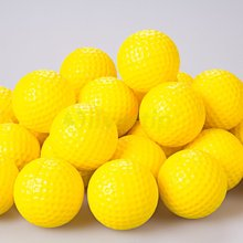 Free Shipping New 30pcs / bag Yellow Red White PU Foam Golf Balls Sponge Elastic Indoor Outdoor Practice Training(China)