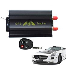 Spy Car Vehicle Realtime GPS/GMS/GPRS/SMS Tracker Tracking System Device TK103B(China)