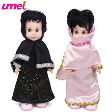 Arab National Fashion Intelligent Interactive Dolls Remote Control Walk Dancing & Telling Stories Educational Toys For Girls(China)