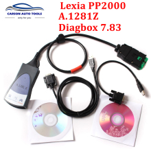 Newest A.1281 Z stickers!!!! 921815C Firmware Lexia3 PP2000 V25 Lexia 3 V48 Diagbox 7.83 PP2000 Lexia 3 Lexia-3 Diagnostic Too(China)
