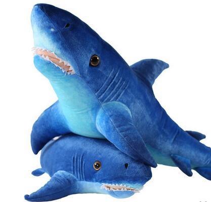 Giant Stuffed Shark popular plush shark toys-buy cheap plush shark toys lots from
