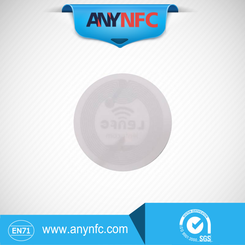 100pcs NFC Smart Tags Ntag 203 144 bytes Capacity with *36mm* Diameter<br><br>Aliexpress