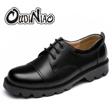 Buy OUDINIAO Mens Shoes Large Sizes Casual British Genuine Cow Leather Men Shoes Footwear Army Officer Classic Shoes Men Black for $27.35 in AliExpress store