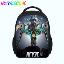 ... Backpack Bookbag  the latest fb7be 7a31f Hot Sale Cartoon Bag Ninjago  Games Backpack Kids 3D Printing School Bags ... ca848084c3
