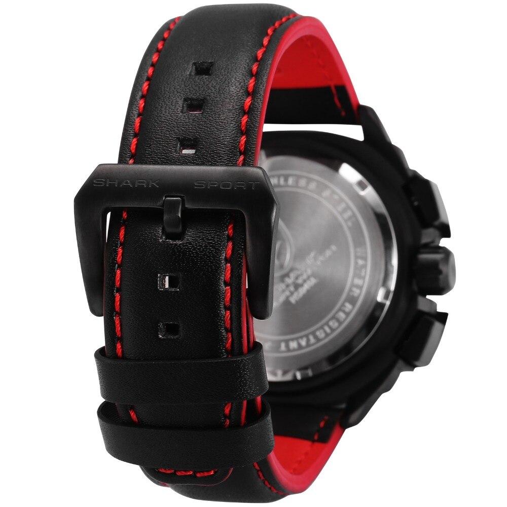 HTB1fExabxSYBuNjSspjq6x73VXaG - Tiger Shark 3rd Generation Sport Watch - Red SH417