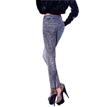 New Fashion Women leggings Jeans Leggins Leopard Printed legging for Woman pants
