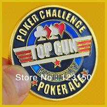 Buy JZ-063 Card Protector, Texas Holdem Accessories, Top Gun for $9.99 in AliExpress store