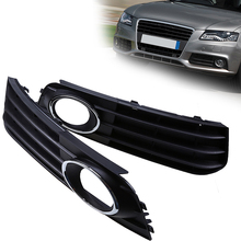 Automobiles Car Front Bumper Lower Grills Grilles Cover Fit for Audi A4 B8 2007-2011 Pre-facelift Car Replacement Accessories(China)