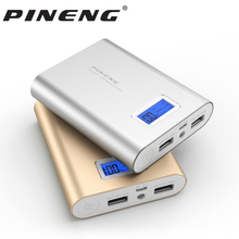 Pineng Power Bank 10000mAh PN-988 18650 External Battery Pack Power with LED Indicator For iphone 8 Xiaomi6s Meizu Samsung S8 LG(Hong Kong)