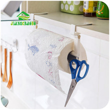 Tissue Holder Plastic Kitchen Bathroom Toilet Towel Roll Paper Facial Napkins Rack Hanging Door Hook Holder