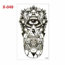 Hot Fashion 3D Tattoo Sticker Man and Woman Tattoo Sticker Robot Arm Gel Water Resistant Christmas Body Ornament