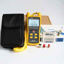 Telecommunication -70 +6dBm JW3208A Handheld Optical Power Meter Fiber Optic Tester with FC SC ST LC Connector(China)