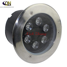 6W LED underground lamp LED Llight Outdoor deck lighting Buried lamp IP65 12V OR AC85~265V free shipping(China)