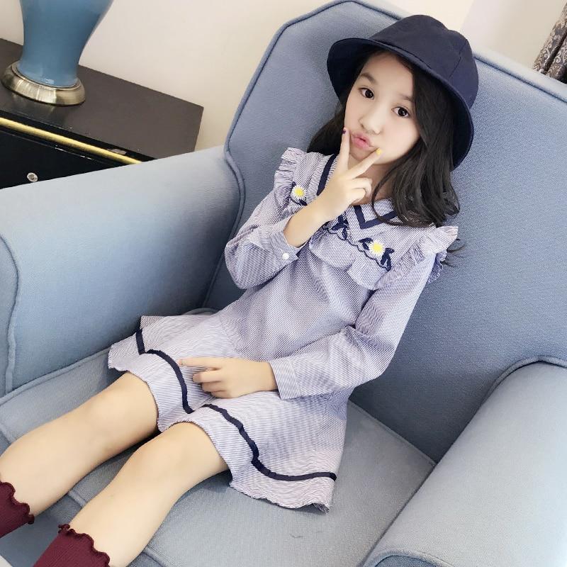 2017 autumn arrive girls dress nova kids wear frocks childrens clothes child girl casual printed nova baby frocks<br>