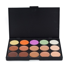 Hot Professional 15 Color Concealer Facial Face Cream Care Foundations Makeup Palettes Cosmetic