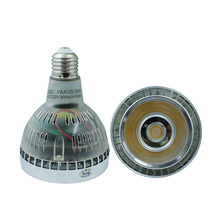 LED PAR 30 COB Led Spotlight bulb lamp E27 Base AC85-265V White / Warm White 35W lampada led replace the 75W Halogen lamp