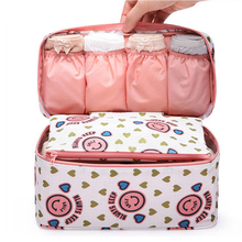 Travel Stroage Bags Lady Toiletries cosmetic Make up Cloth Bra organization Weekend Overnight Underwear Accessories Supplie Item
