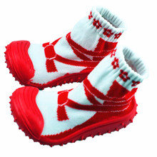 KiDaDndy Children Toddler Shoes Socks Christmas Newborn Christmas Gift Girl Boy Socks Infant Socks 0-2 T Years Old LL8969(China)