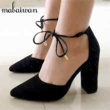 2017 New Sexy Black Women Sandals Lace Up Gladiator High Heels 9CM Women Pumps Wedding Dress Shoes Woman Stiletto Valentine Shoe