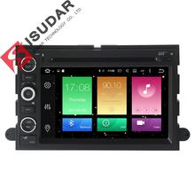 Android 6.0 2 Din 7 Inch Car DVD Player For FORD/F-150/Mustang/Explorer/Kuga/Edge 2G RAM 32G ROM 3G/4G WIFI Radio Navigation GPS(China)