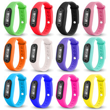 Men`s Watch Run Step Watch Bracelet Pedometer Calorie Counter Digital LCD Walking Distance Sport  & Simple & High Quality M1