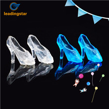 LeadingStar 12Pairs Fashion Cute Princess Barbie Dolls High Heel Dress Pumps Fairy Tales Shoes zk35(China)