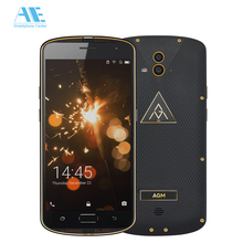AGM X1 IP68 Waterproof Cellphone 5.5 inch 5400mAH 4G RAM 64G ROM OTG MSM8952 Octa Core NFC Fingerprint 4G LTE  Mobile Phone