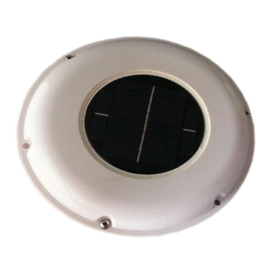 SOLAR VENT FAN AUTOMATIC VENTILATOR USED FOR CARAVANS BOATS GREEN HOUSE BATHROOM <br>