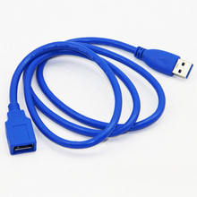 1M 100cm USB 3.0 Extension Cable Male to Female M/F Dual Shielding(Foil+Braided) High Speed(China)