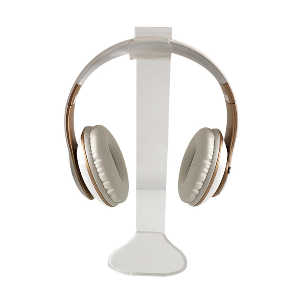 Ouhaobin Universal Acrylic Clear Color Headphone Stand Headset Holder Display Hanger For Sony And Others