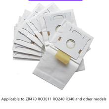 Original OEM Single vacuum cleaner dust bag, Composite paper garbage bag, ZR470 for RO3011 240 340, Cleaner Parts
