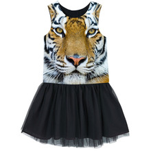 Girls Tulle dress  Kids Ballerina Ballet Dance Party Yarn best dress Clothes Children The nice tiger dresses baby  dresses