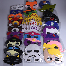 New Mask Cosplay Bear Princess Glasses Strong Superhero Fox Superman Batman Halloween For kids Party Costumes Masks Christmas