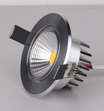 Free Shipping LED COB Downlights Dimmable 9W 15W recessed ceiling led down light  led Spot Light
