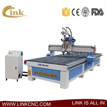 New product cnc router kit with 2 heads/vacuum table/T-slot table 1325 1530 2030 2040