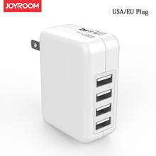 4 USB Mobile Charger EU USA Travel Wall Charging Adapter Universal 2.4a Fast psp xbox game console mp3 mp4 electronics Charger