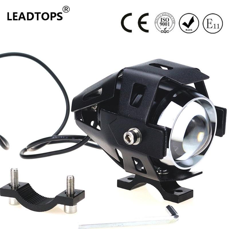 1PCS LED Motorcycle Headlight Motorbike Light 125W  Head Lamp For Ktm Exc Cafe Racer FOR Harley FJ<br><br>Aliexpress