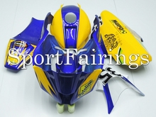 Fairings Kawasaki ZX10R ZX-10R Year 11-14 2011 2012 2013 2014 Fiberglass Race Motorcycle Full Fairing Kit Bodywork Blue Yellow