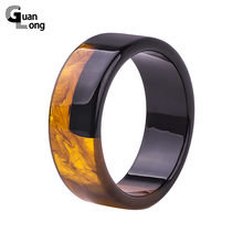 GuanLong Brand Design Lucite Resin Crafts Bangle Bracelets For Women High Street Puseiras Jewelry Drop Shipping Wholesale(China)