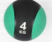 4KG Durable Rubber Medicine Ball Solid Gravity Fitness Ball Tai Chi Health Ball Muscle Training Equipment