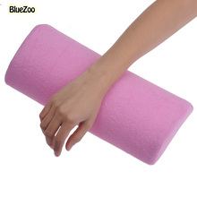 BlueZoo New Pink Nail Soft Small Hand Rests Pillow Cushion For Nail Art Decoration Pillow Nail Art Manicure Tool Art