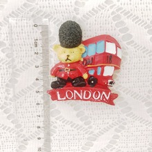 British Style Party Supplies London Bus Design Fridge Magnet Party Favor for Guest Party Decoration(China)