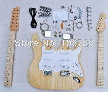12 String ST Double neck Electric guitar Kits(China)