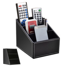 Debris Storage Box Plate High Grade PU Leather Desk Storage Boxes Case for Table Living Room Dining Room Study Bedroom Use